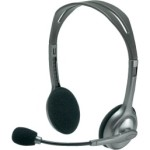 LOGITECH H110 HEADSET with MICROPHONE